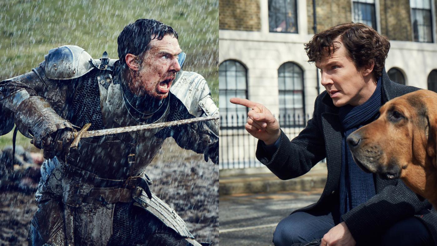 Benedict Cumberbatch as Richard III and Sherlock