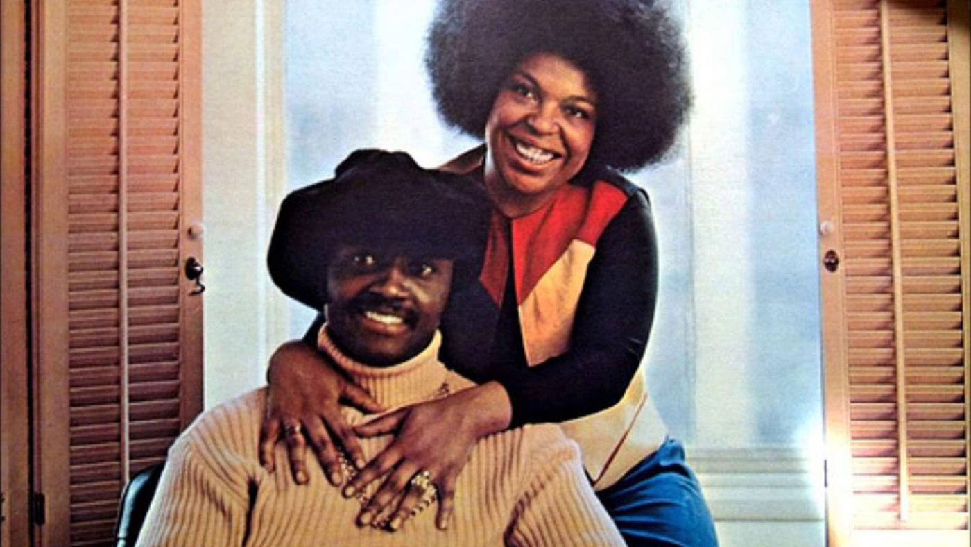 Donny Hathaway and Roberta Flack.