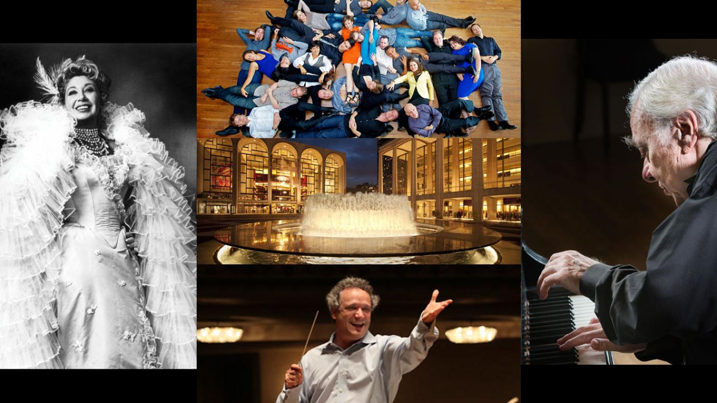 Beverly Sills, the International Contemporary Ensemble, Richard Goode, and Louis Langrée in a 50 Years of Mostly Mozart broadcast Live from Lincoln Center.