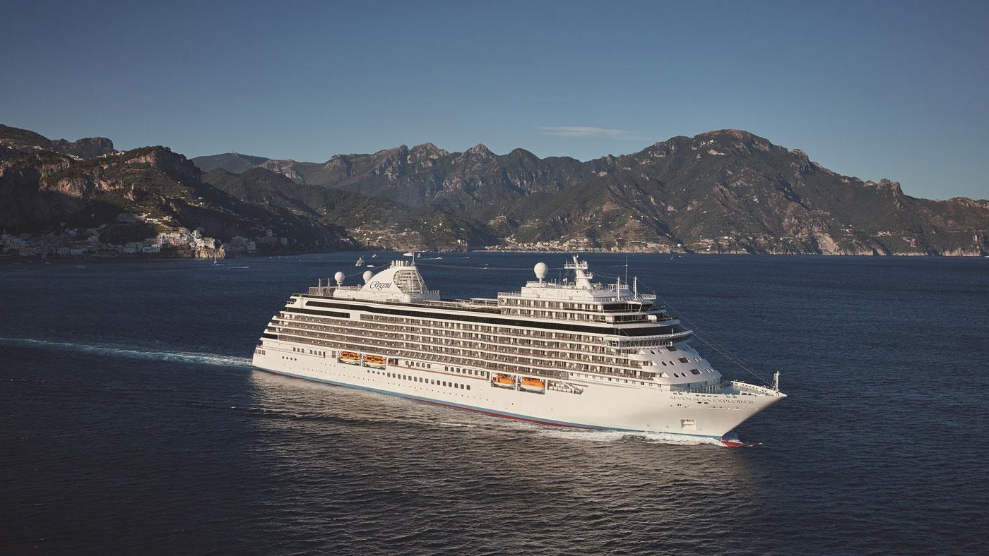 The Regent Seven Seas Explorer. (Courtesy of Martin Gorst)