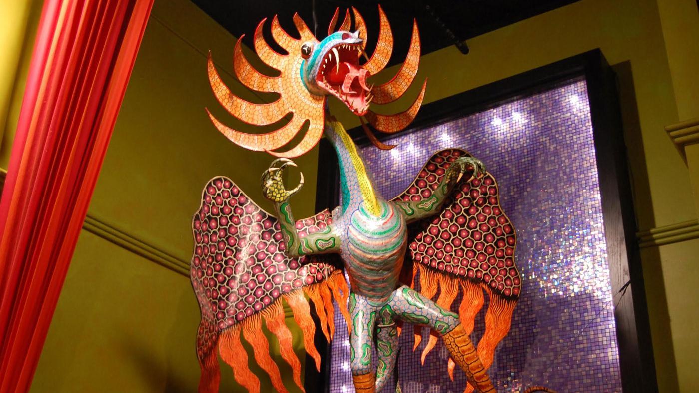 Mexican folk art in Frontera Grill. (Caitrin Hughes)