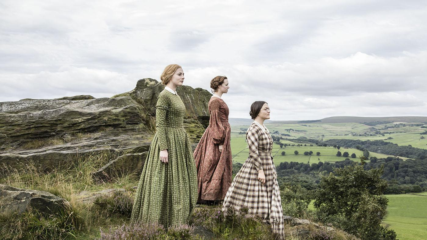 The Brontë sisters in 'To Walk Invisible.' (Courtesy of Gary Moyes/BBC and MASTERPIECE)