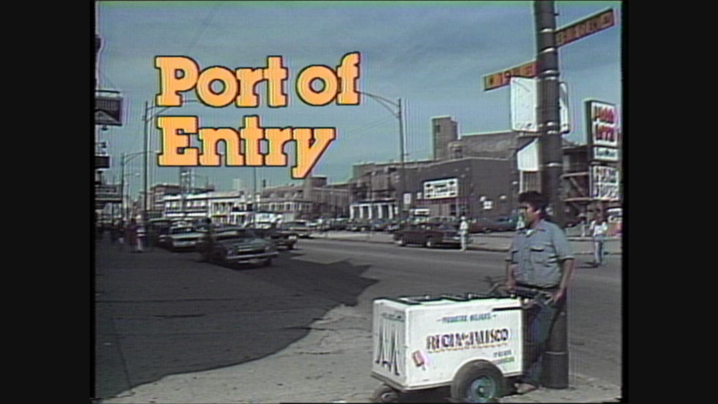 A still from the original WTTW documentary about Pilsen, 'Port of Entry.'
