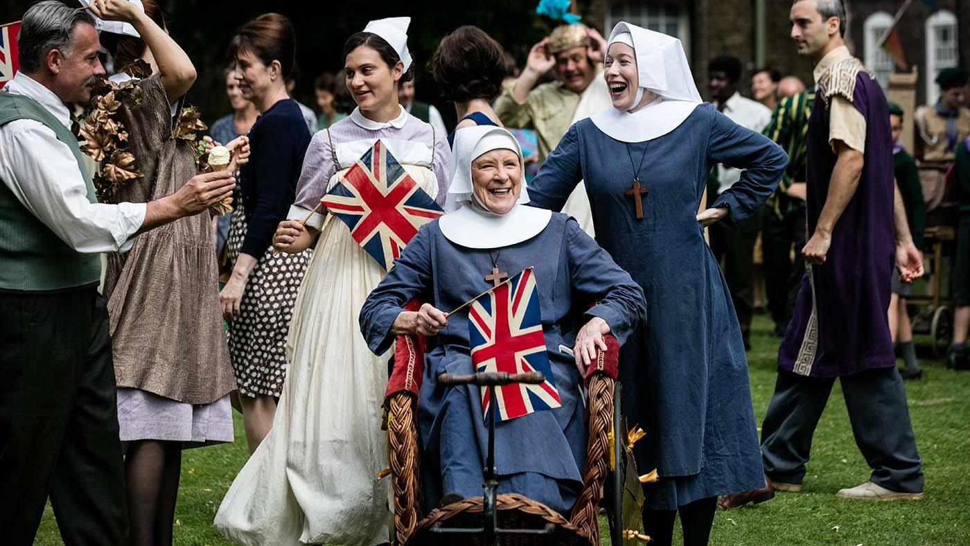 Judy Parfitt as Sister Monica Joan, Victoria Yeates as Sister Winifred in 'Call the Midwife.' Photo: Neal Street Productions 2016