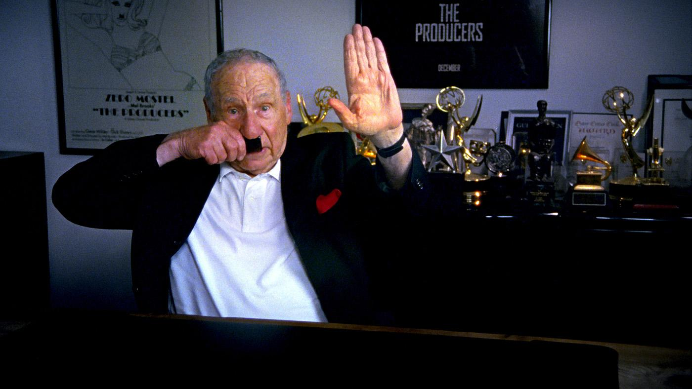 Mel Brooks in 'The Last Laugh.' Photo: Ferne Pearlstein