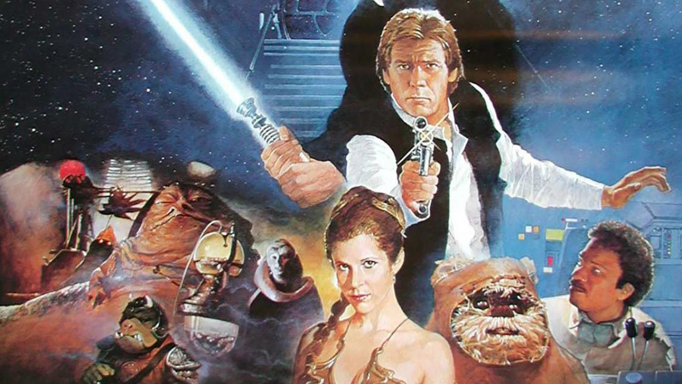 The original poster for 'Star Wars: Episode VI – Return of the Jedi.'