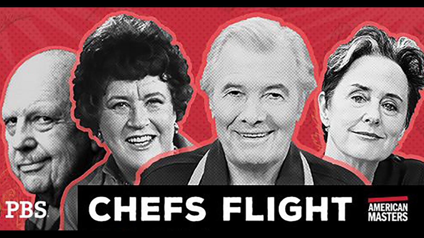 James Beard, Julia Child ,Jacques Pépin, and Alice Waters