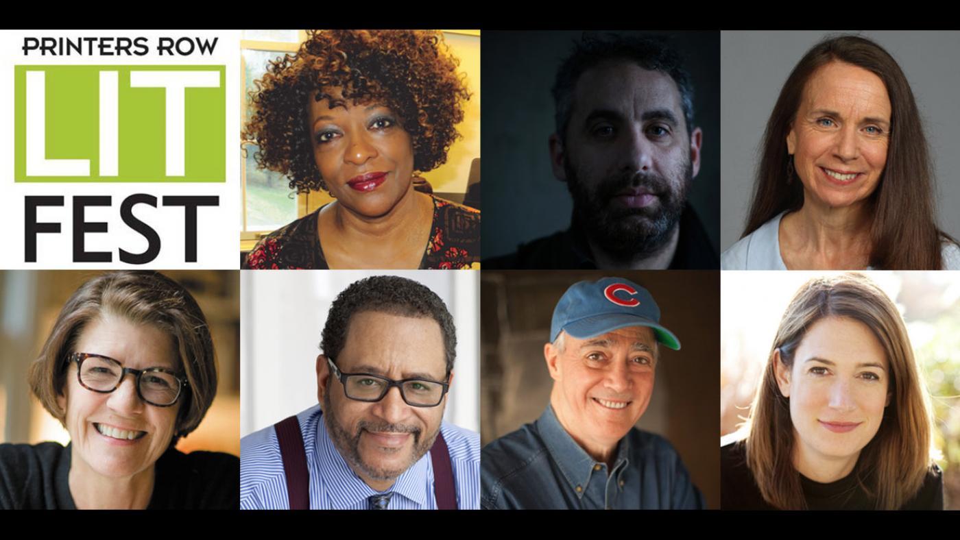 Printers Row Lit Fest: Rita Dove, Jason Wambsgans, Mary Schmich, Amy Dickinson, Michael Eric Dyson, Scott Simon, Gillian Flynn.