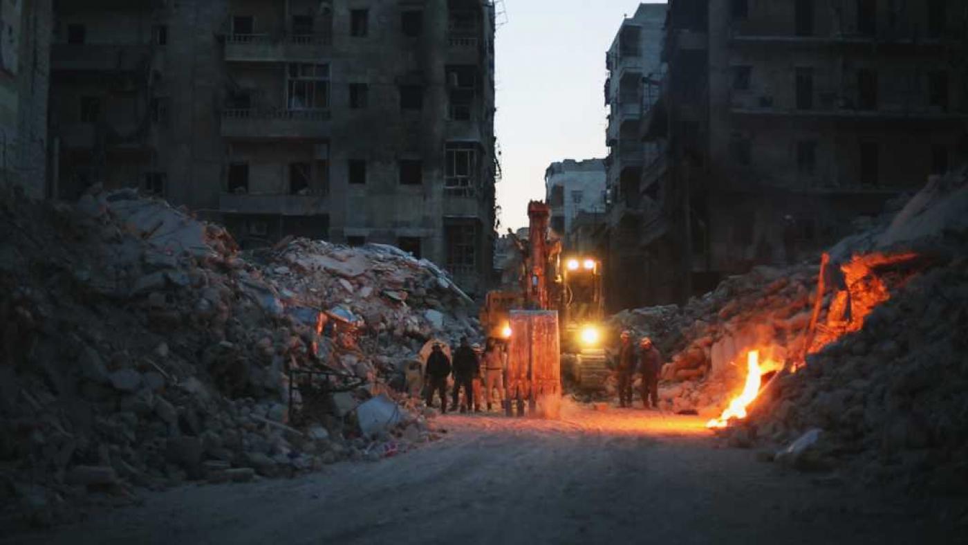 Last Men in Aleppo. Photo: AMC 2017