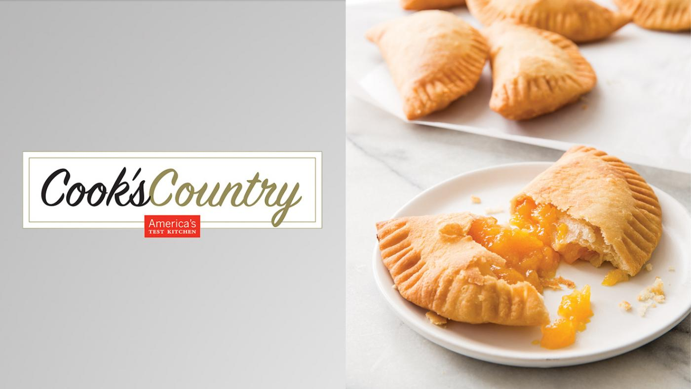 Fried Peach Pies from Cook's Country. Photo: Joe Keller