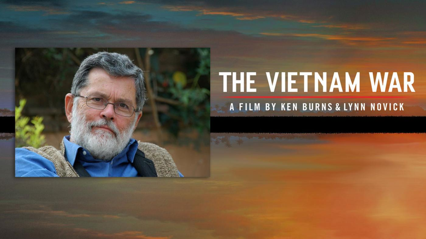 Geoffrey Ward, scriptwriter for Ken Burns' The Vietnam War. Photo: Diane Raines Ward