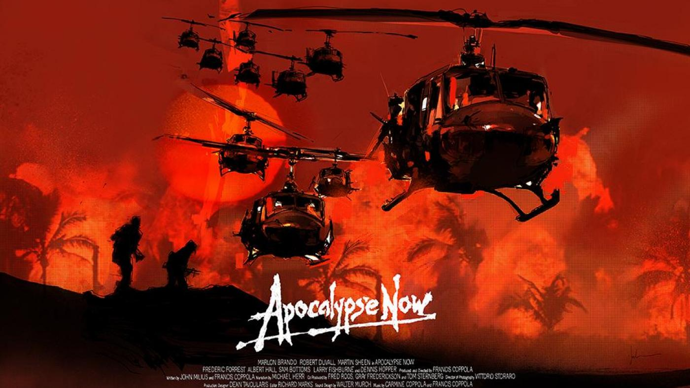 The poster of Apocalypse Now.