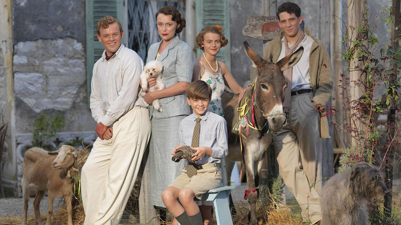 The Durrells in Corfu. Photo: John Rogers/Sid Gentle Films & MASTERPIECE