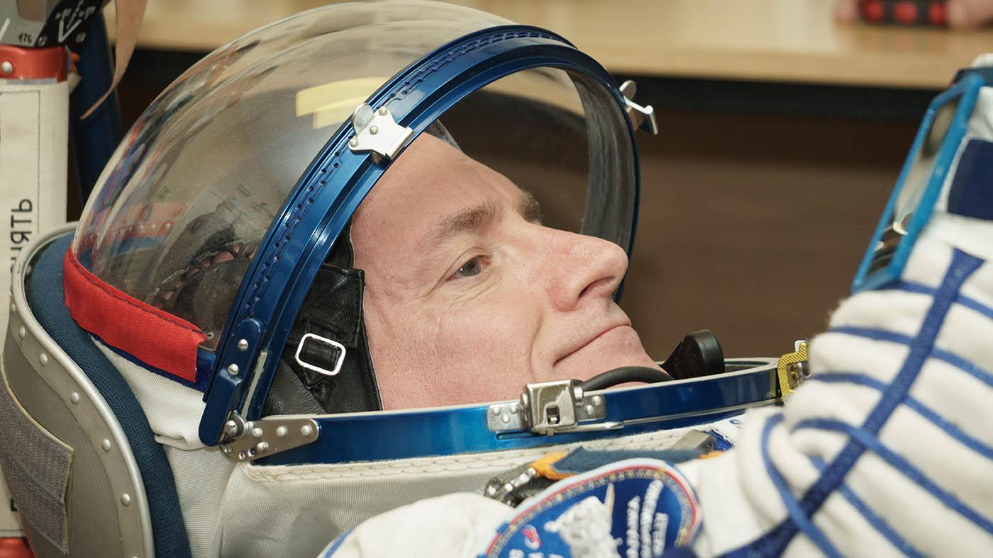 Astronaut Scott Kelly. Photo: Victor Zelentsov / NASA