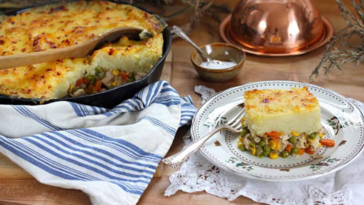 Thanksgiving Leftovers Shepherd's Pie. Photo: Courtesy PBS Food