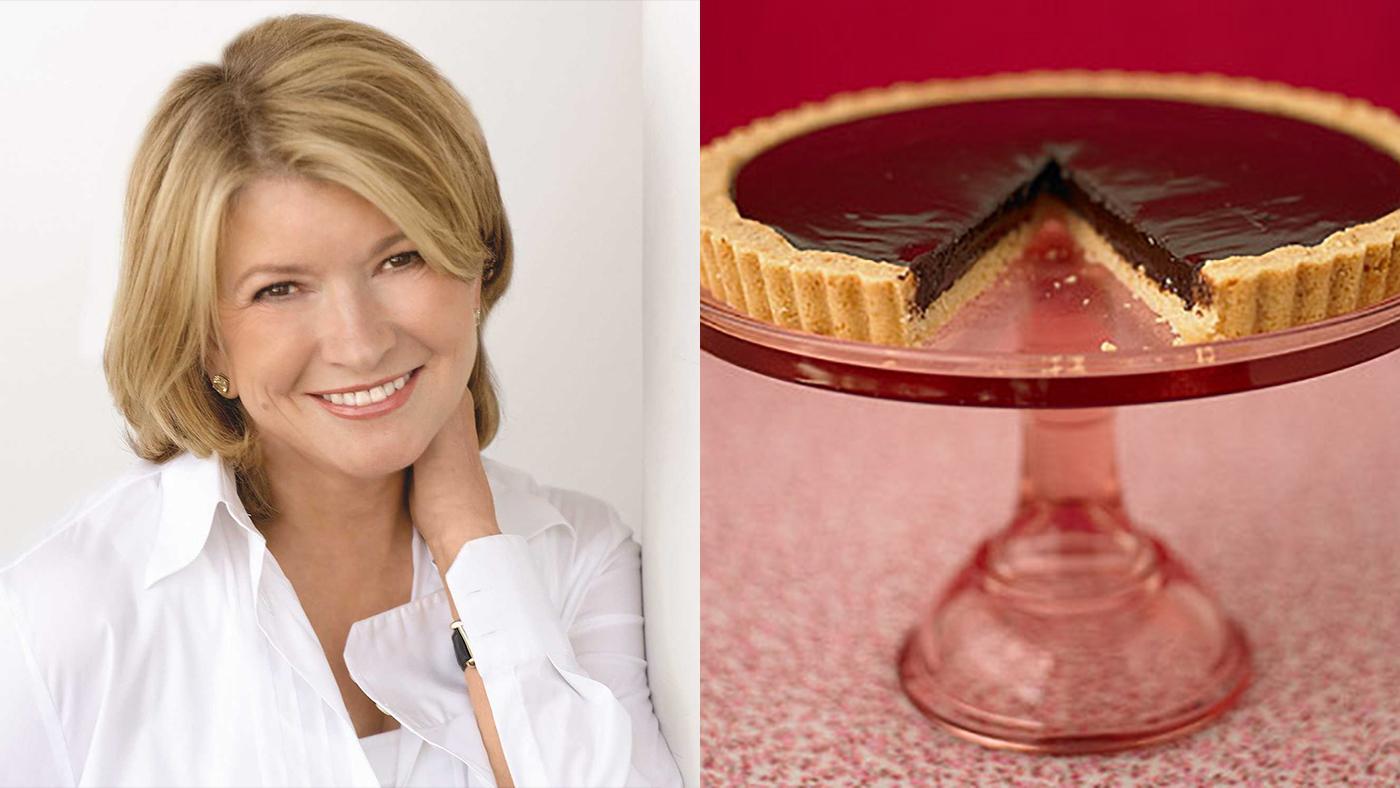 Martha Stewart's Chocolate Ganache Tart
