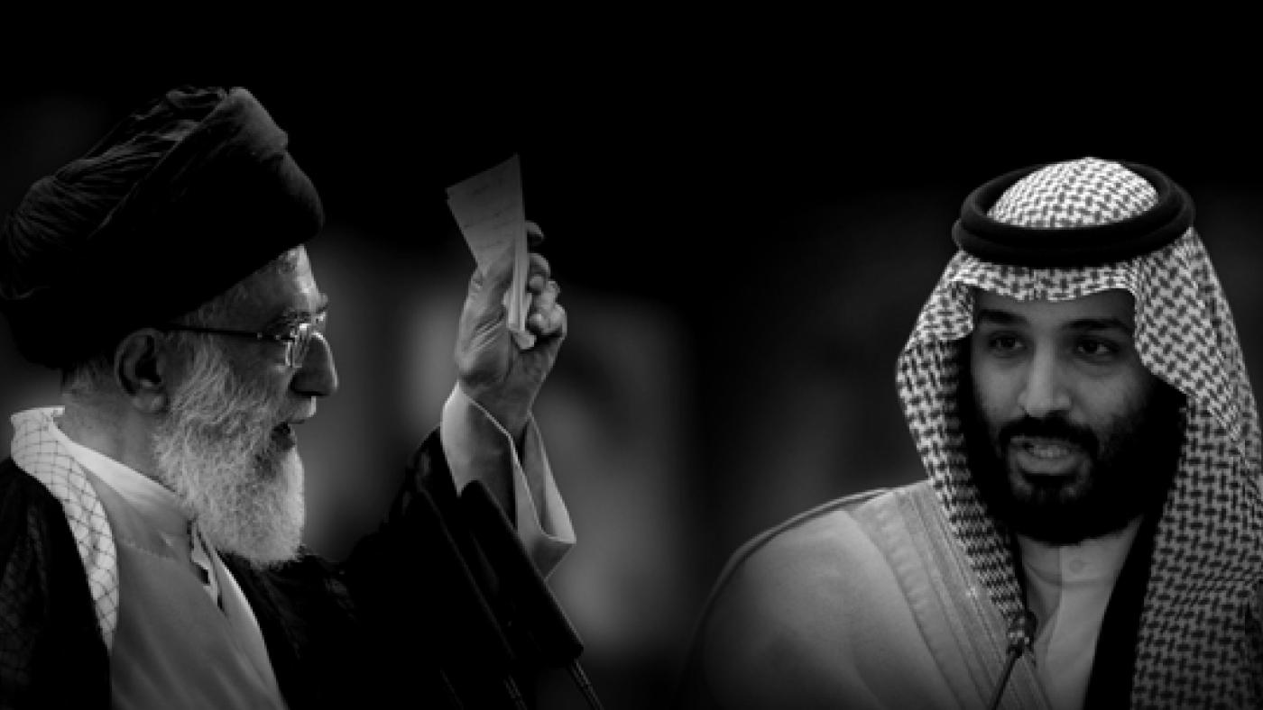 Iran's Supreme Leader Ayatollah Ali Khamenei and Saudi Crown Prince Mohammed bin Salman. Photos: REUTERS/Morteza Nikoubazl & Bandar Algaloud/Saudi Royal Court/Handout via REUTERS