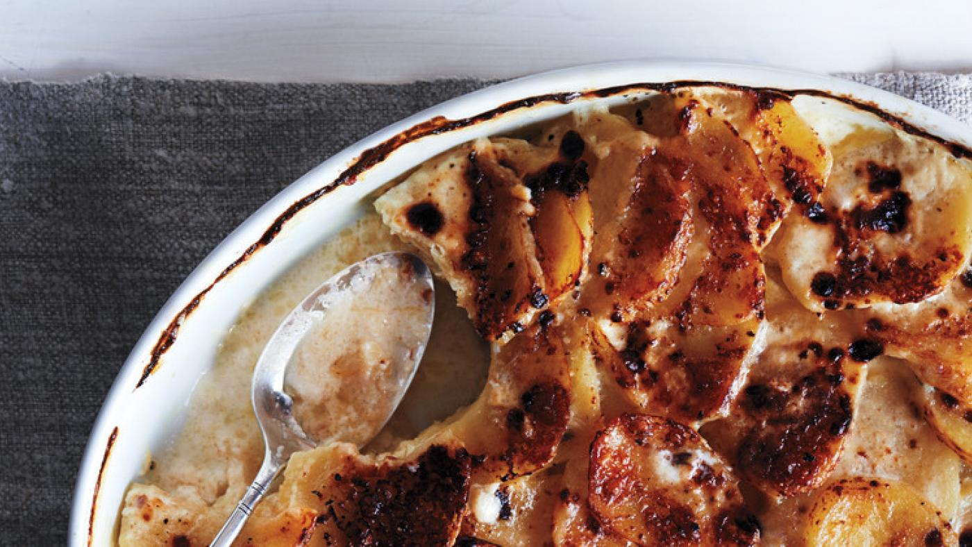 Martha Stewart's Scalloped Potatoes. Photo: Adrian Mueller