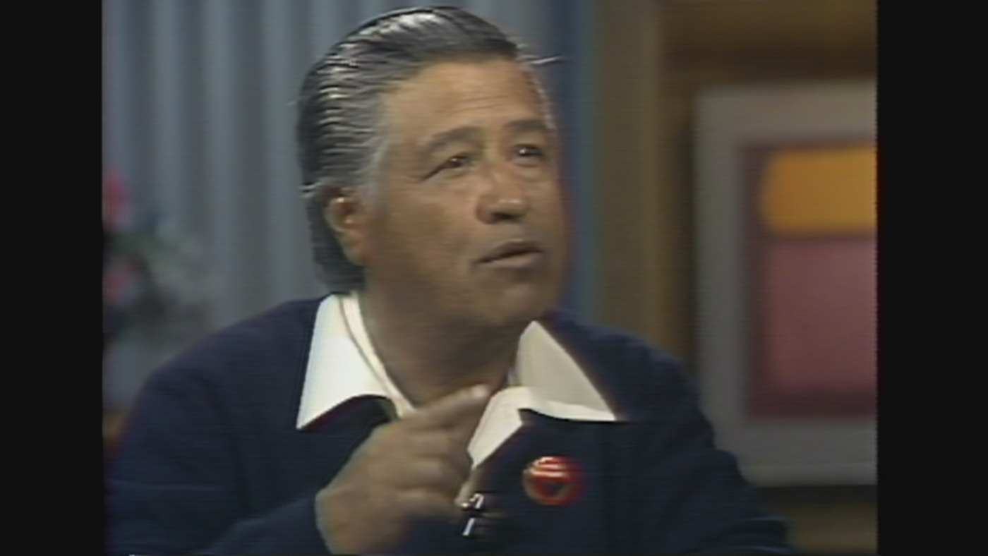 Cesar Chavez on Chicago Tonight with John Callaway