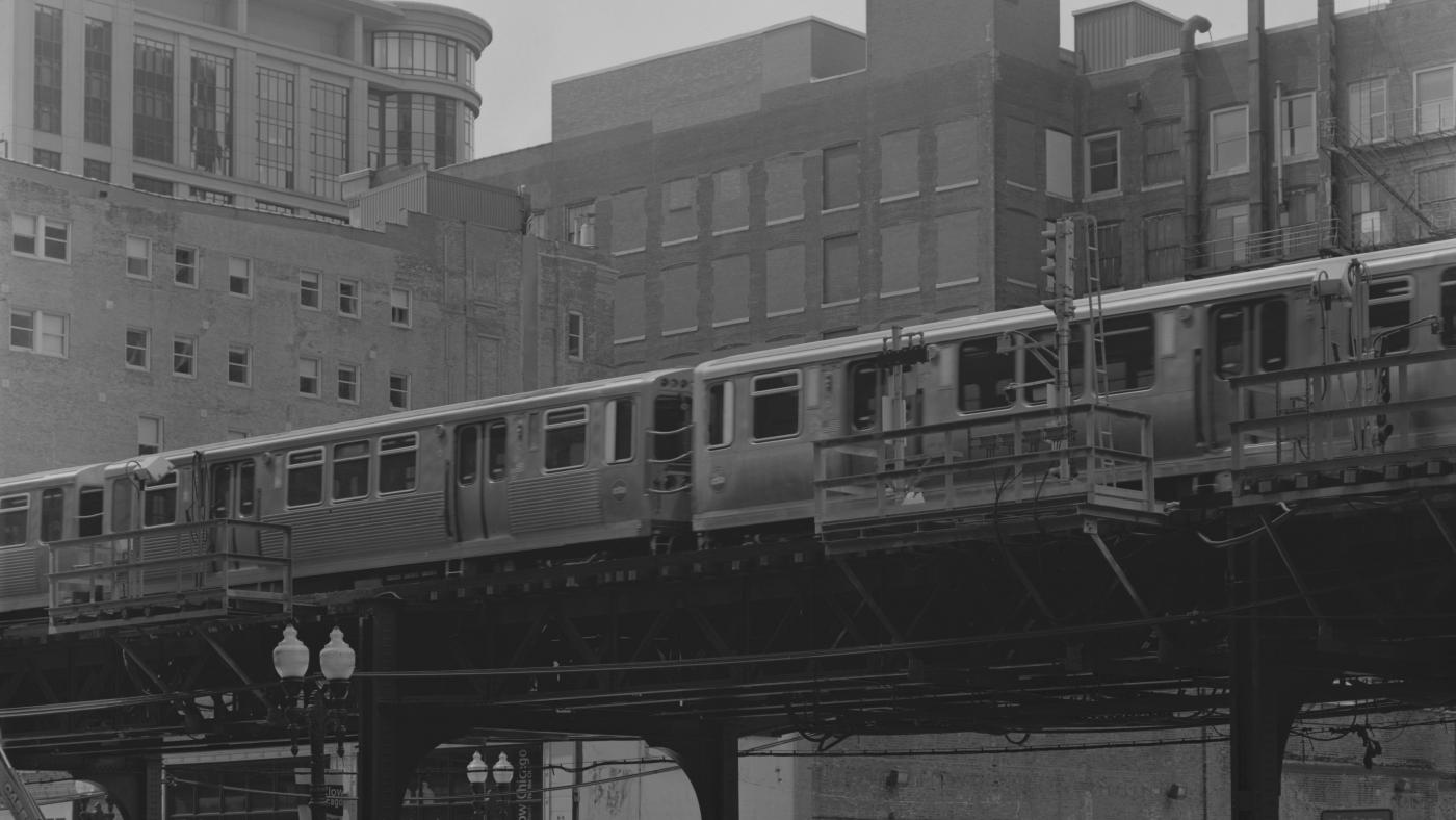"The Chicago ""L."" Photo: Jackson Hirsch on Unsplash"