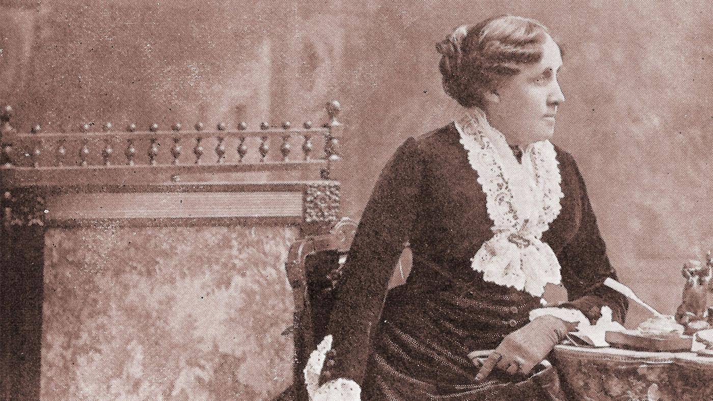 Louisa May Alcott. Photo: Orchard House