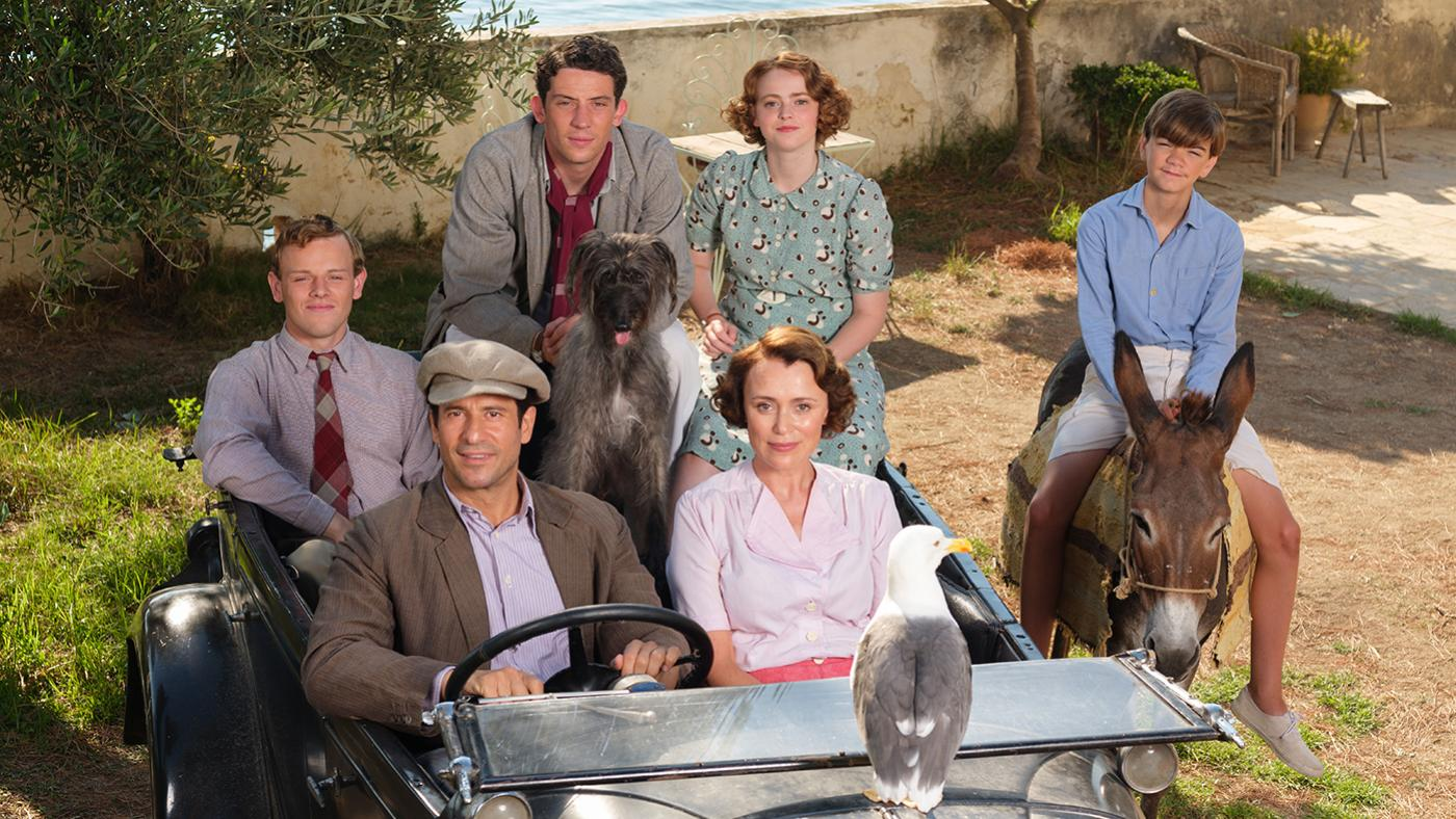 The Durrells in Corfu. Photo: Joss Barratt for Sid Gentle Films & MASTERPIECE