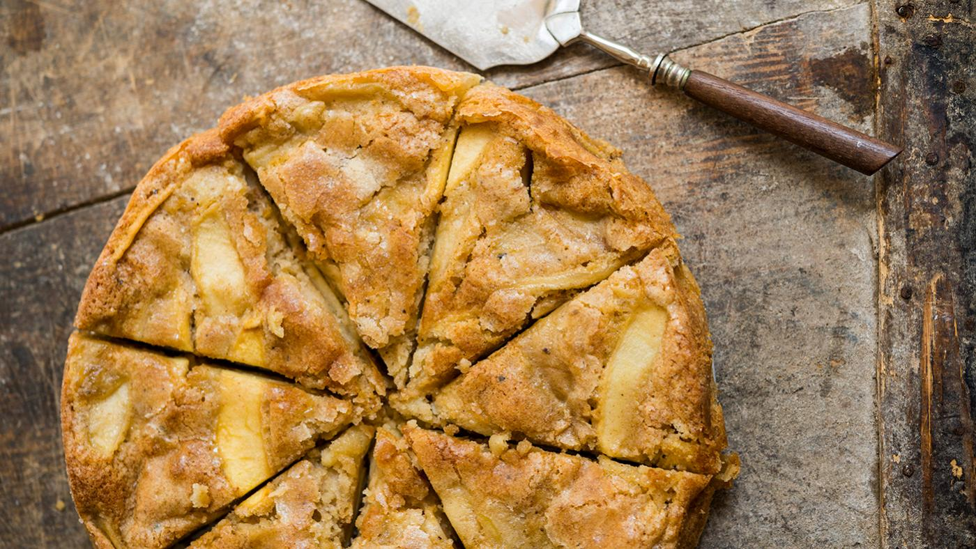 A French apple cake from Milk Street. Photo: Connie Miller of CB Creatives