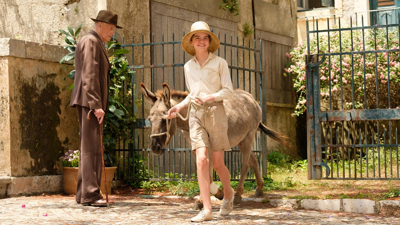 Gerry in the Durrells in Corfu. Photo: Joss Barratt for Sid Gentle Films & MASTERPIECE
