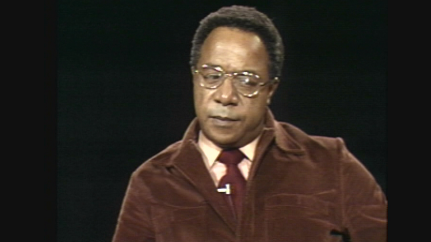 The author Alex Haley in 1976
