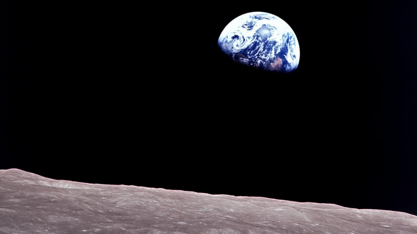 The iconic Earthrise photo from Apollo 8. Photo: NASA