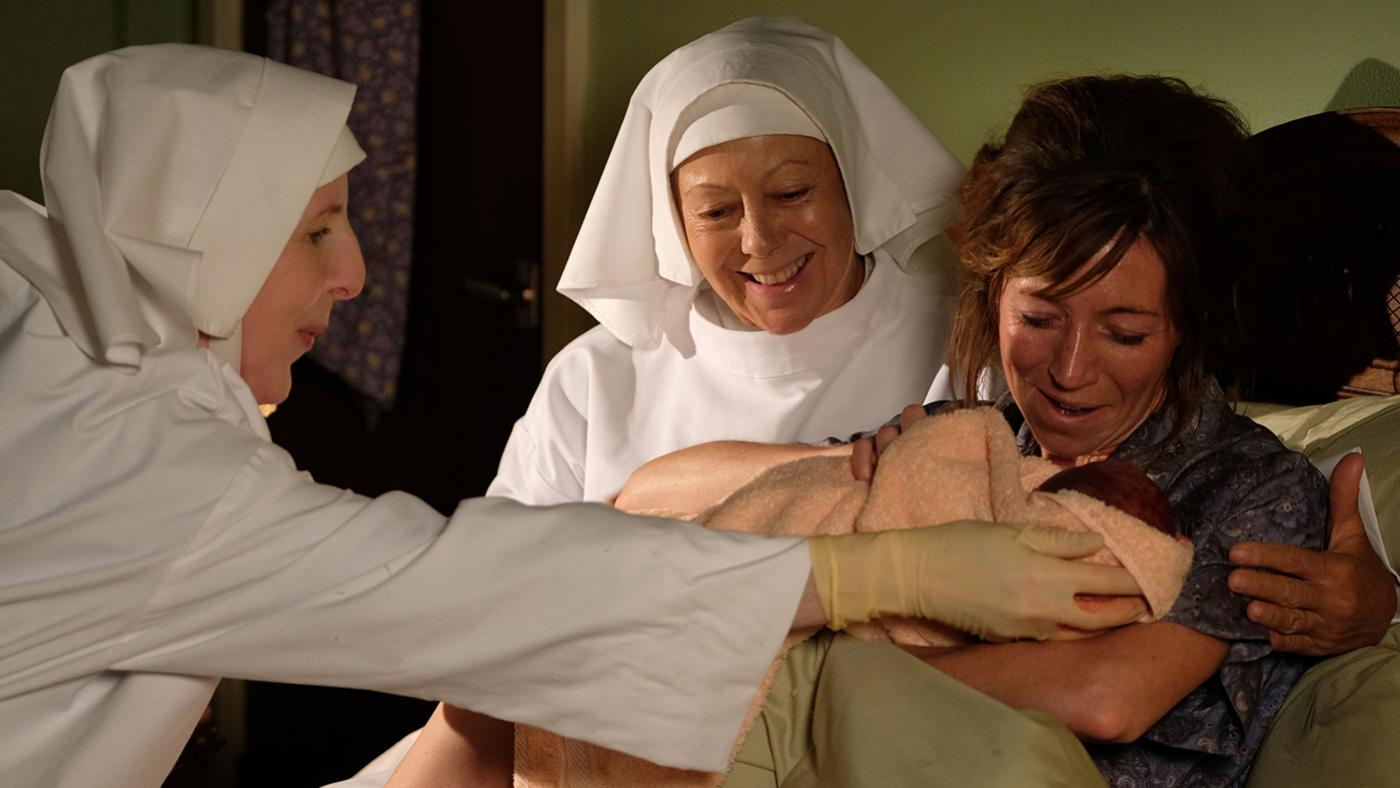 Sisters Hilda and Julienne in Call the Midwife. Photo: BBC/Neal Street Productions