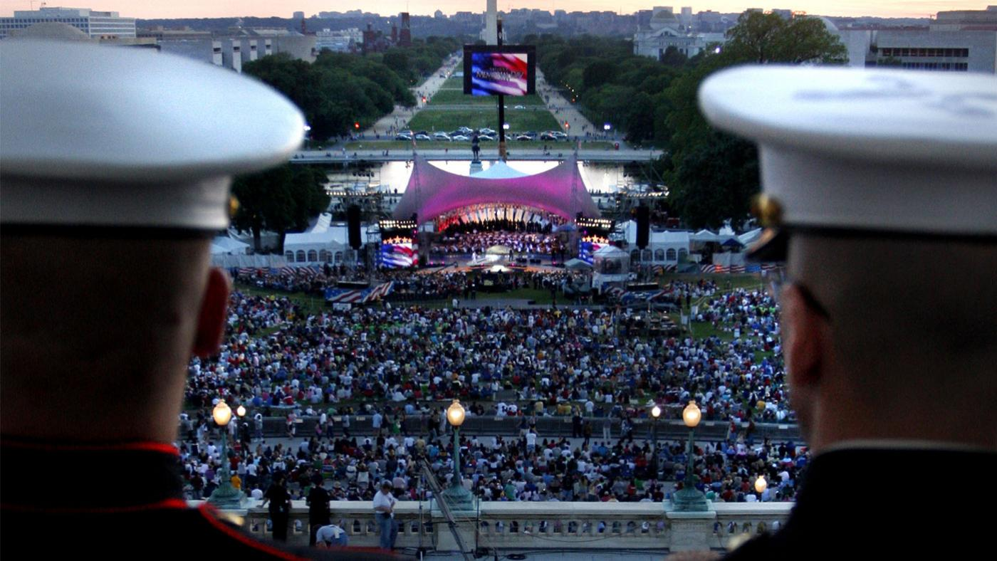 The National Memorial Day concert. Photo: Capital Concerts