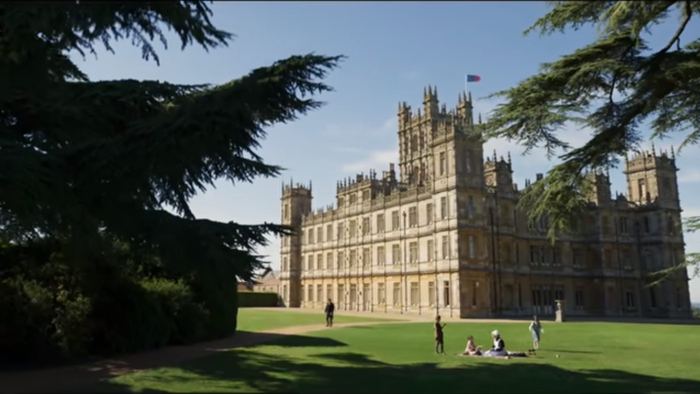 The Downton Abbey film trailer. Image: Focus Films/YouTube