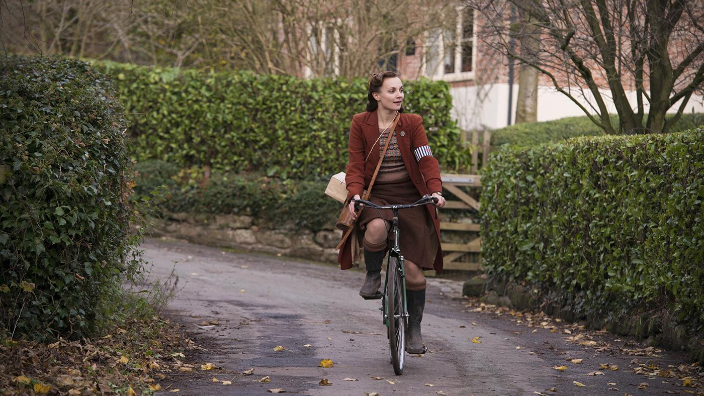 Leila Mimmack as Laura Campbell in 'Home Fires.' Photo: iTV Studios and MASTERPIECE