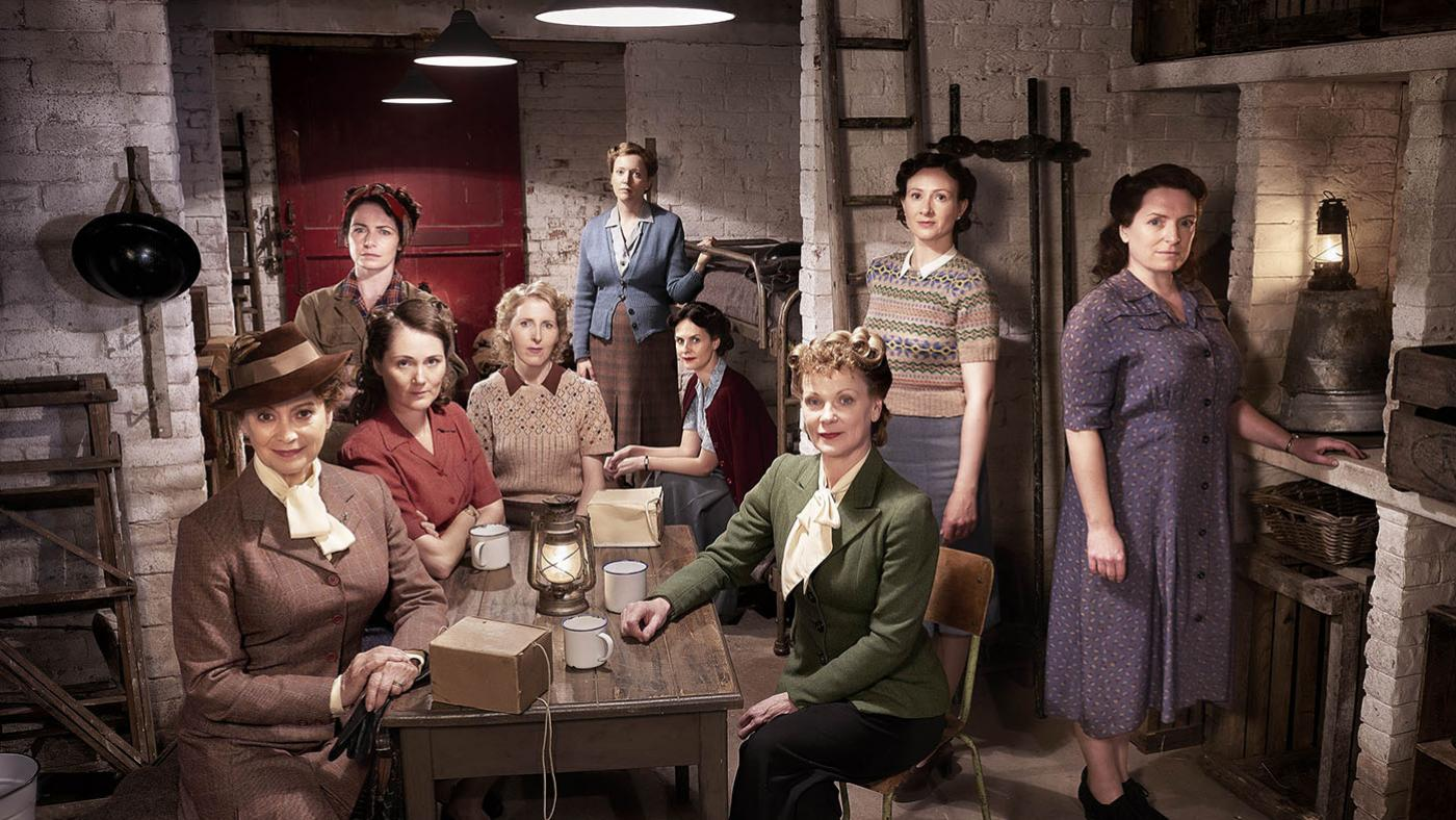 The women of 'Home Fires.' Photo: iTV Studios and MASTERPIECE