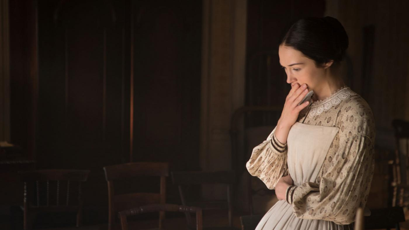 Hannah James as Emma Green. (PBS/Erik Heinila)