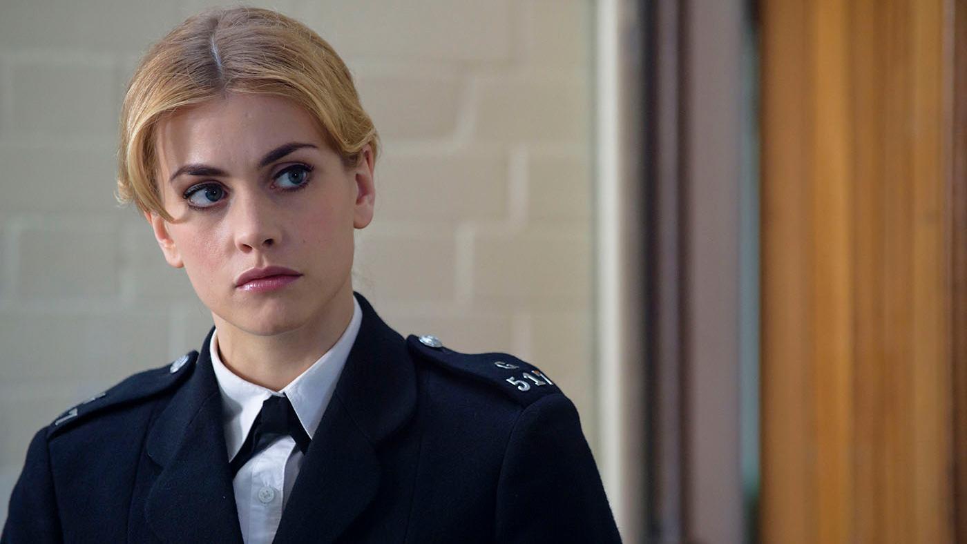 Stefanie Martini as Jane Tennison in Prime Suspect: Tennison. Photo: ITV Studios and NoHo Film & Television