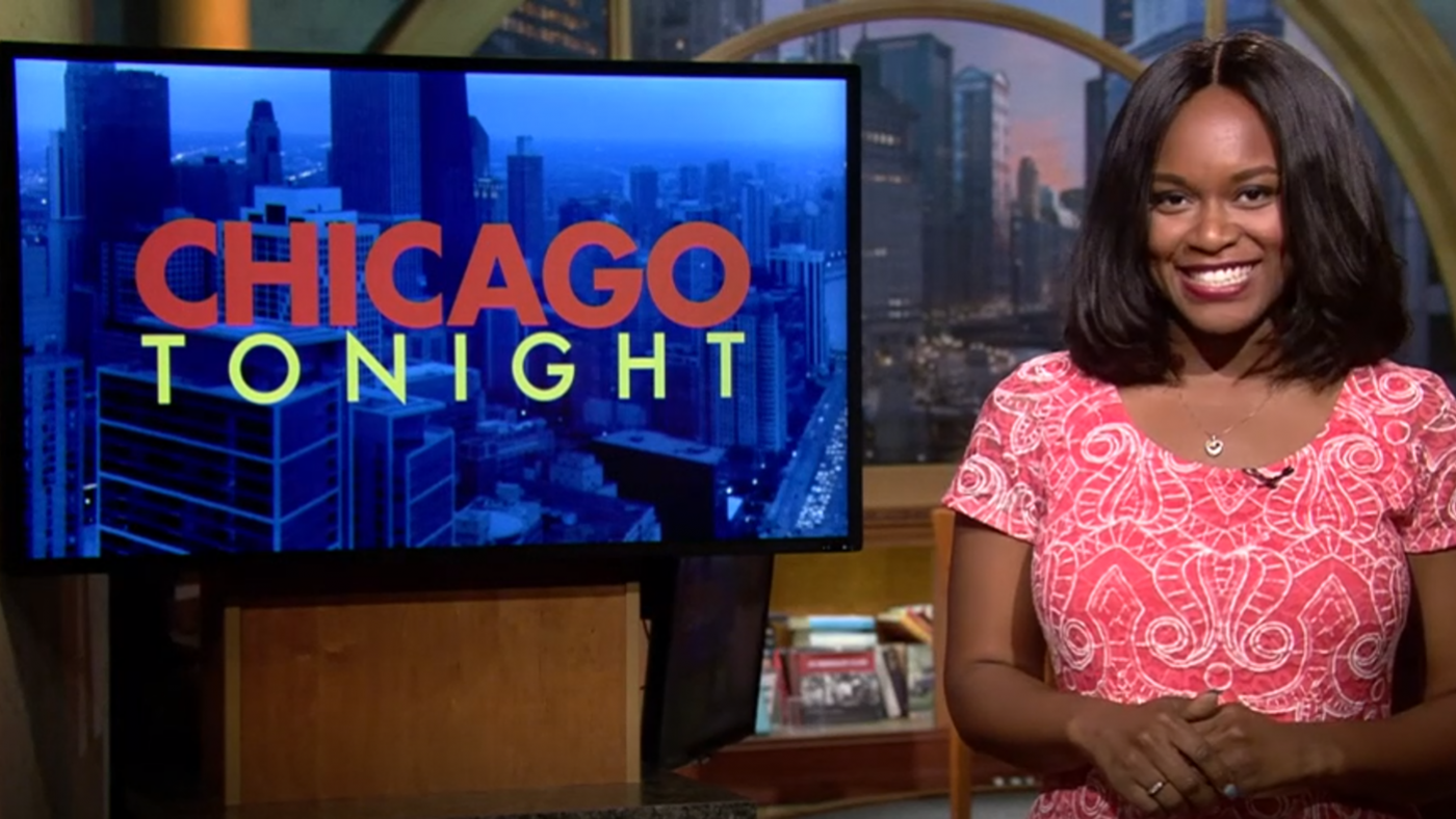 Angel Idowu, the JCS Fund of the DuPage Foundation Arts Correspondent for 'Chicago Tonight'