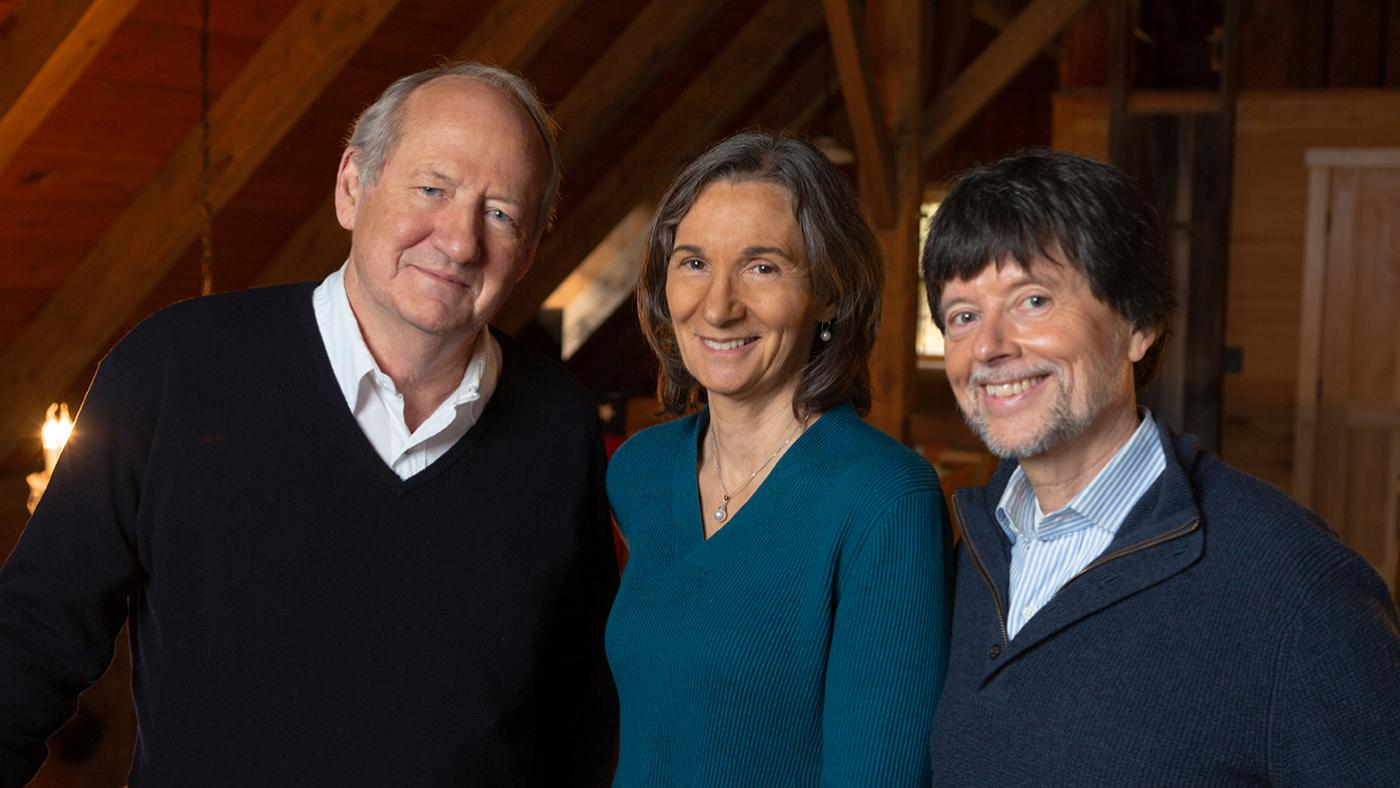 Country Music writer and producer Dayton Duncan; producer Julie Dunfey; and director and producer Ken Burns. Photo: Evan Barlow