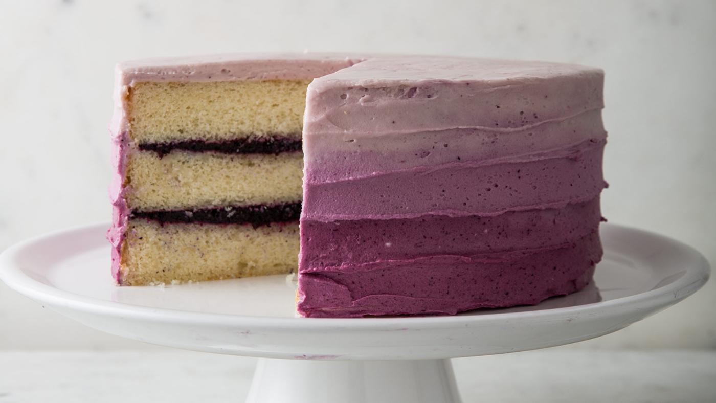 Blueberry Jam Cake from 'Cook's Country.' Photo: Joe Keller
