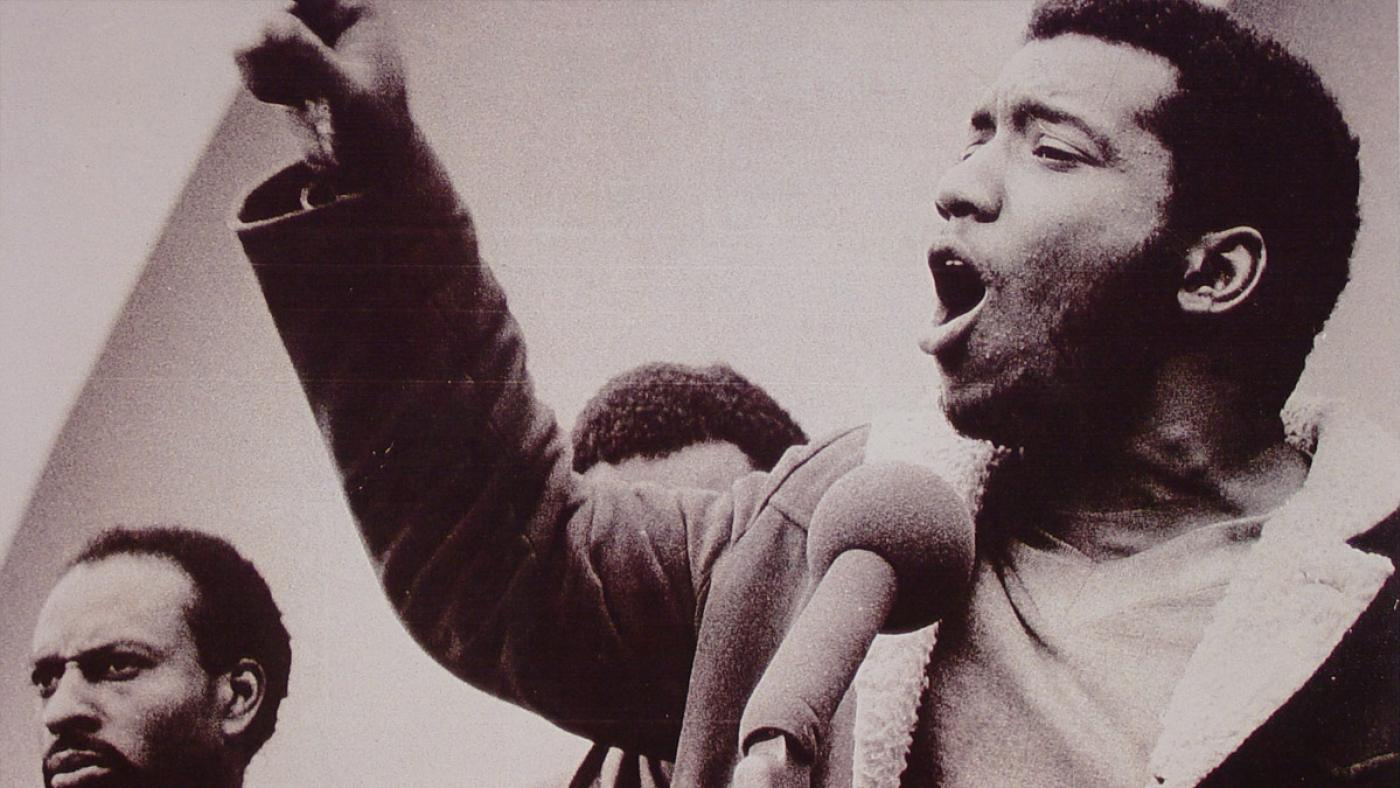 Fred Hampton. Image: Chicago Defender Archives, from WTTW's Dusable to Obama