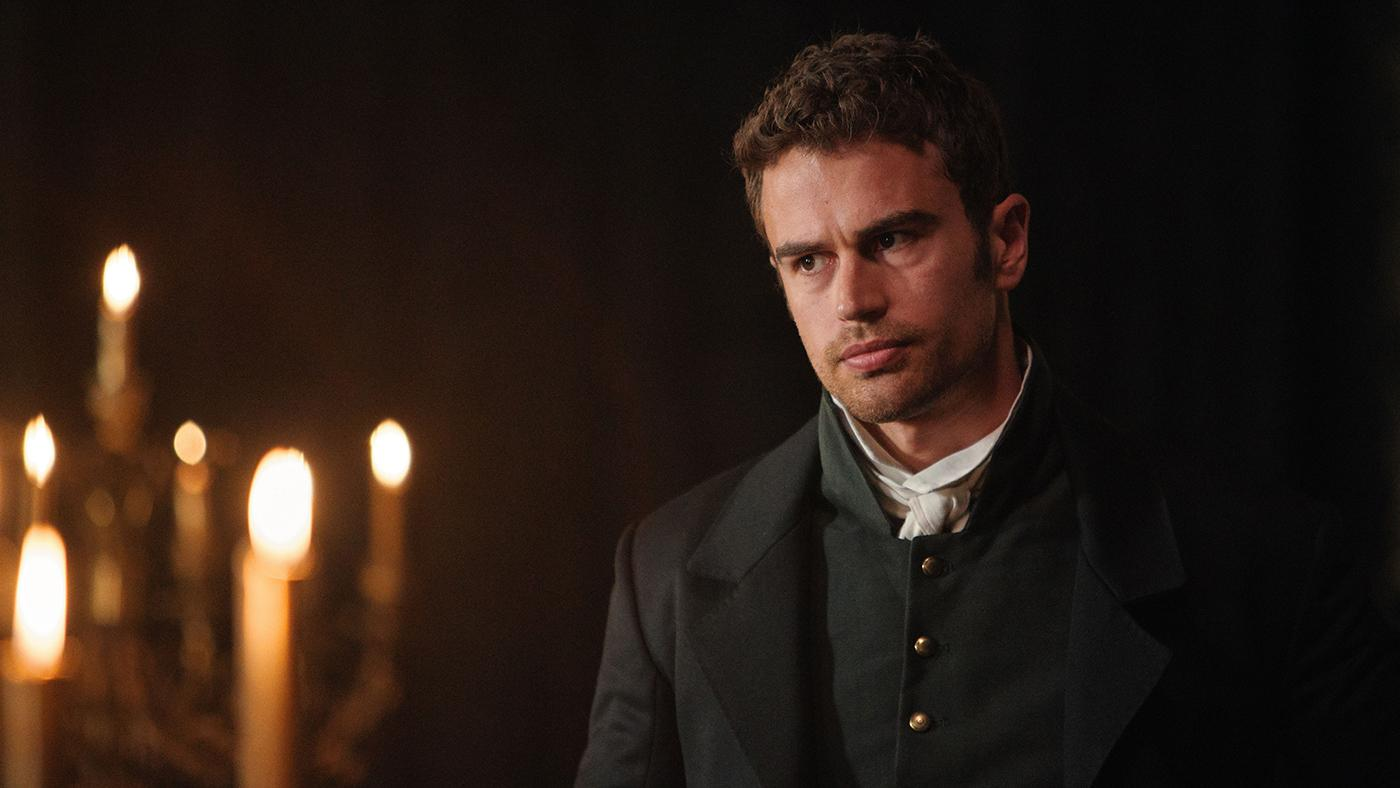 Theo James as Sidney Parker in Sanditon. Photo: Red Planet Pictures/ITV 2019