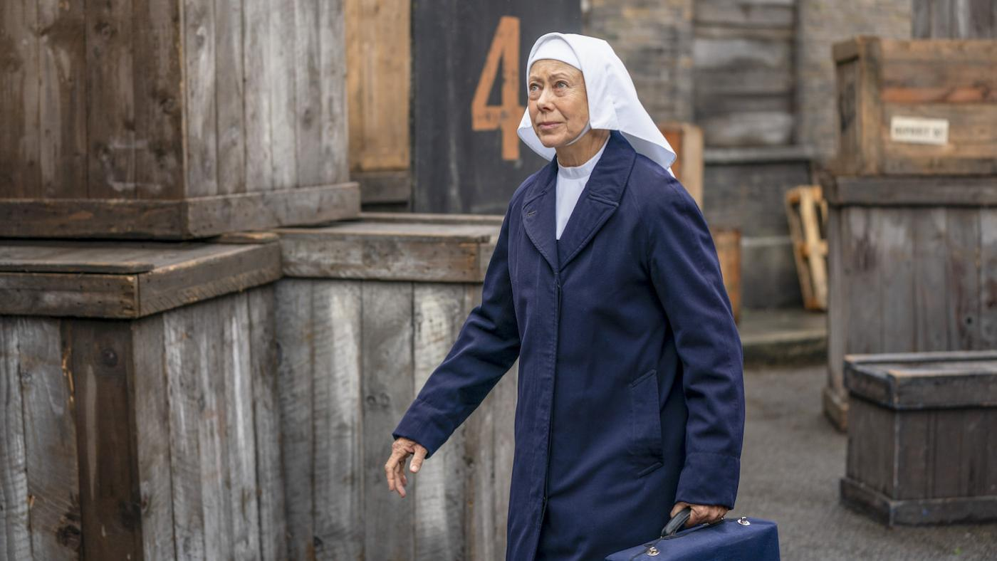 Sister Julienne in season 9 of Call the Midwife. Photo: BBC / Neal Street Productions