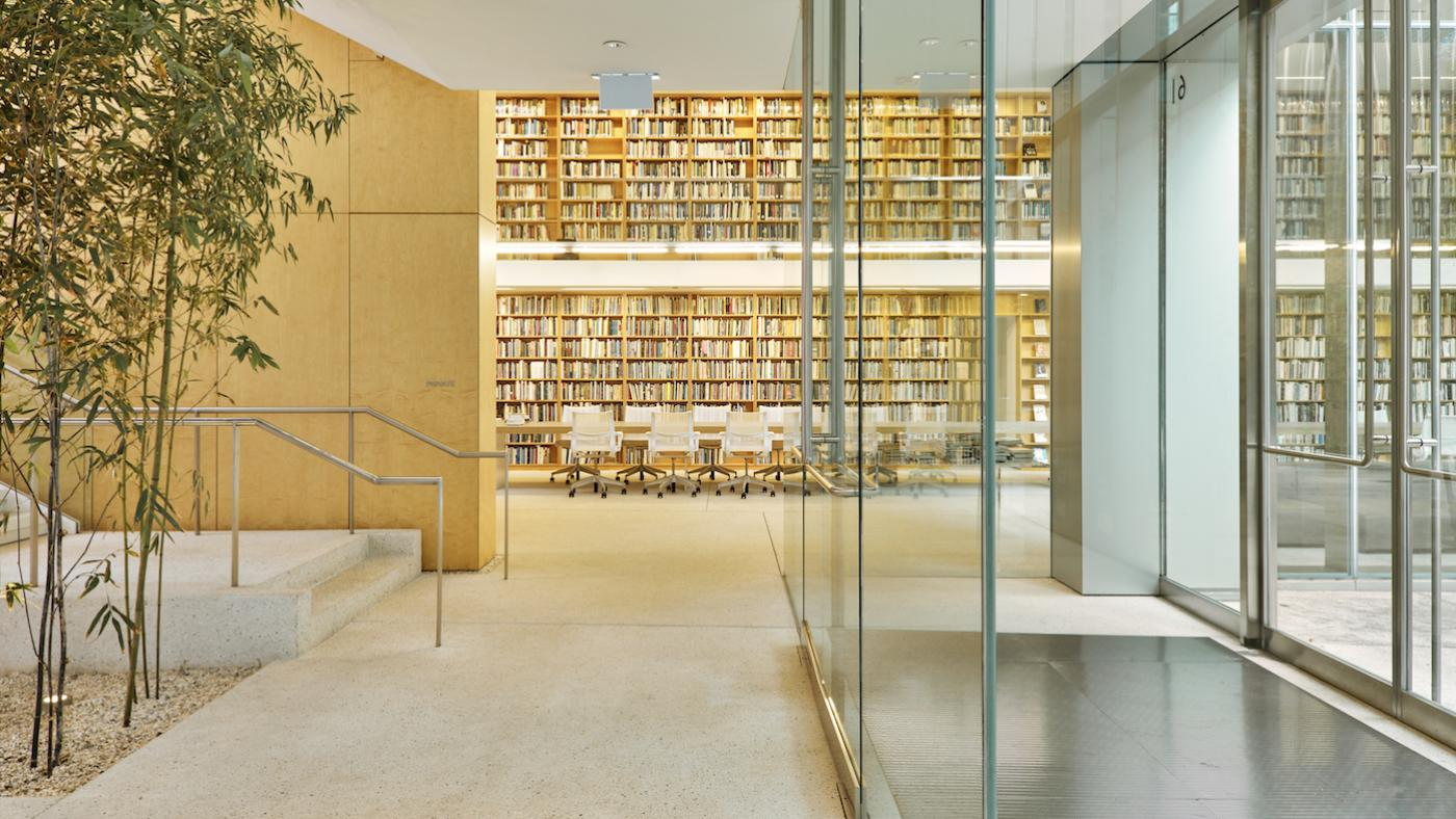 The Poetry Foundation library in Chicago. Photo: Sam Grant