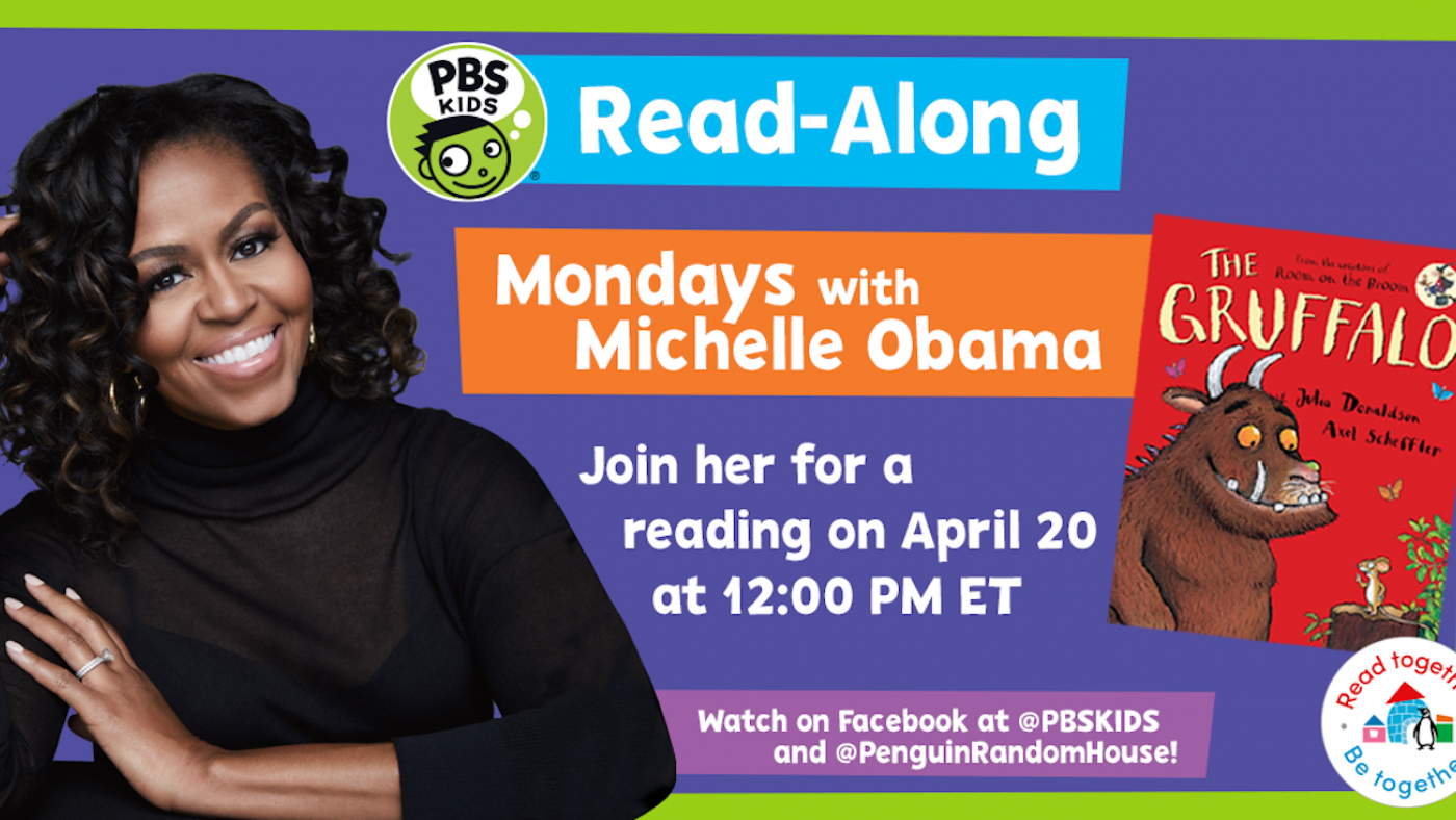 'Mondays with Michelle Obama' from PBS KIDS