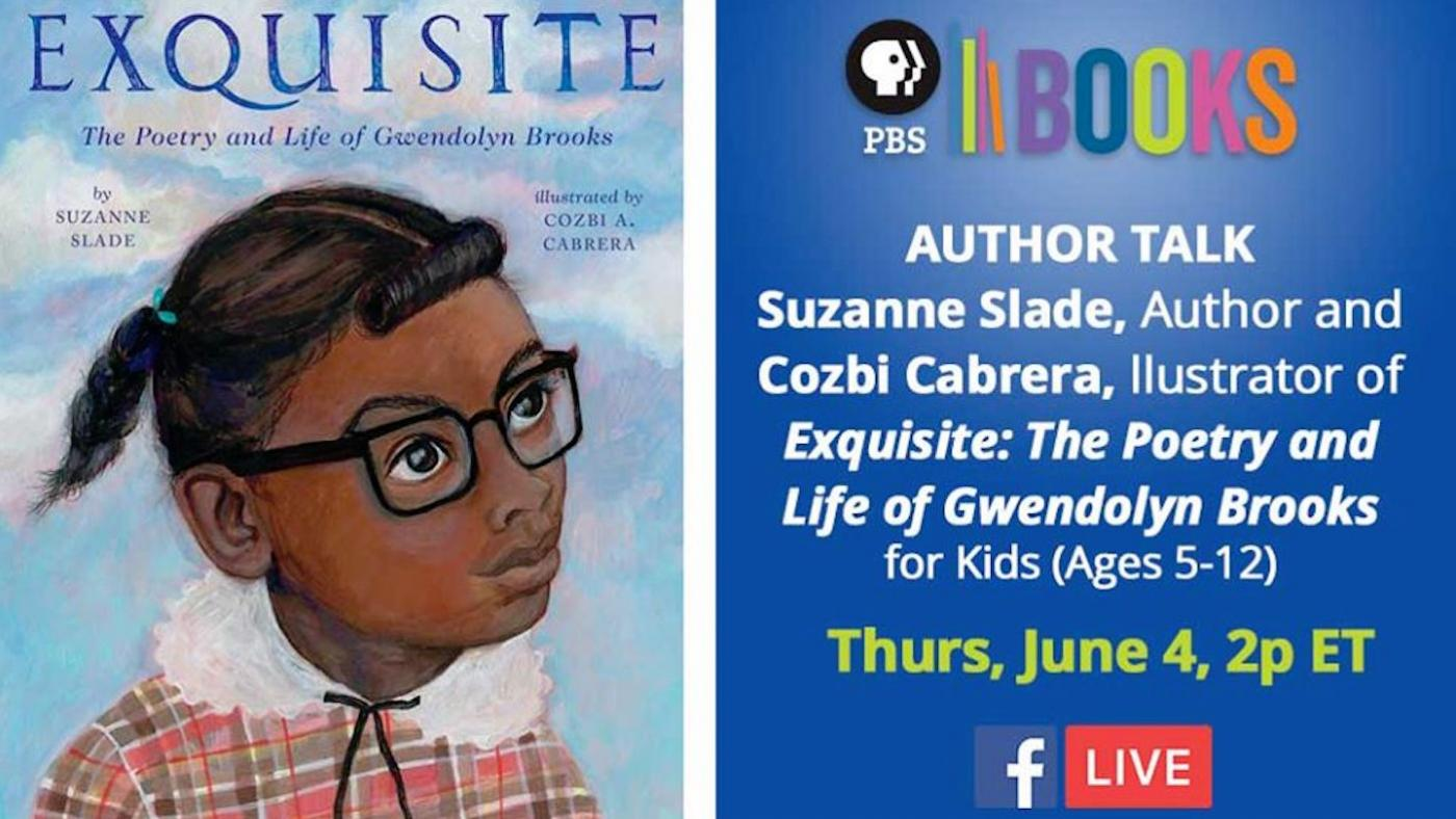 A PBS Books author talk about 'Exquisite: The Poetry and Life of Gwendolyn Brooks'