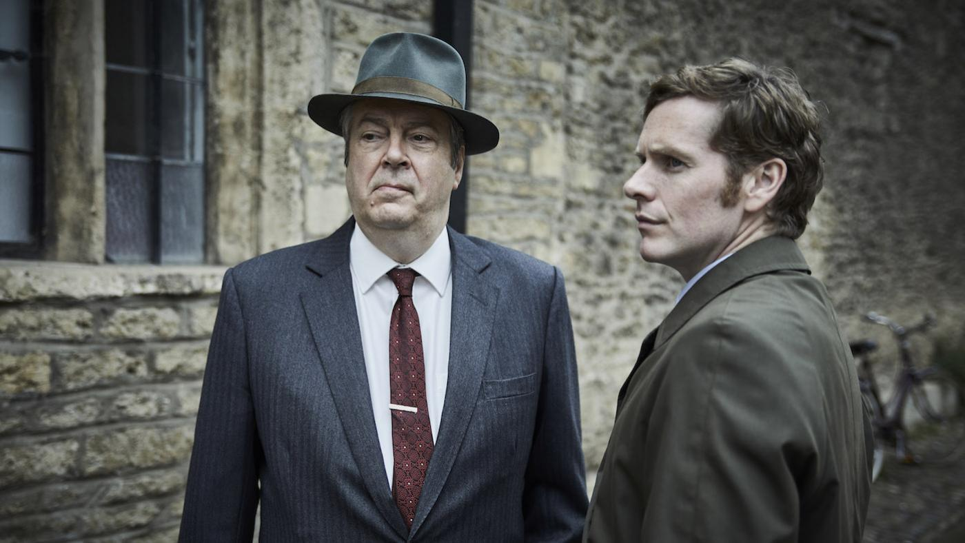 Thursday and Morse in 'Endeavour' season 7. Photo: Mammoth Screen