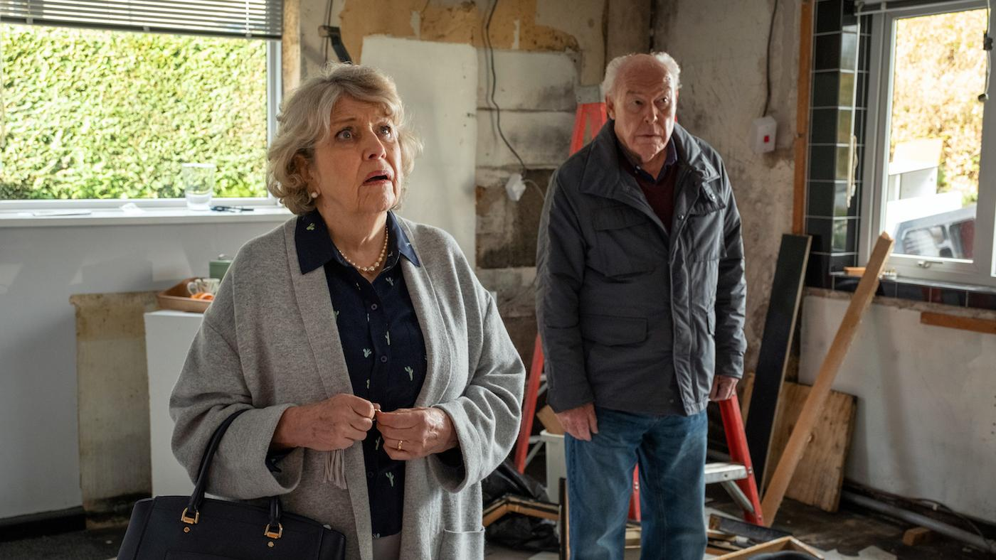 Celia and Ted in 'Last Tango in Halifax.' Photo: Matt Squire