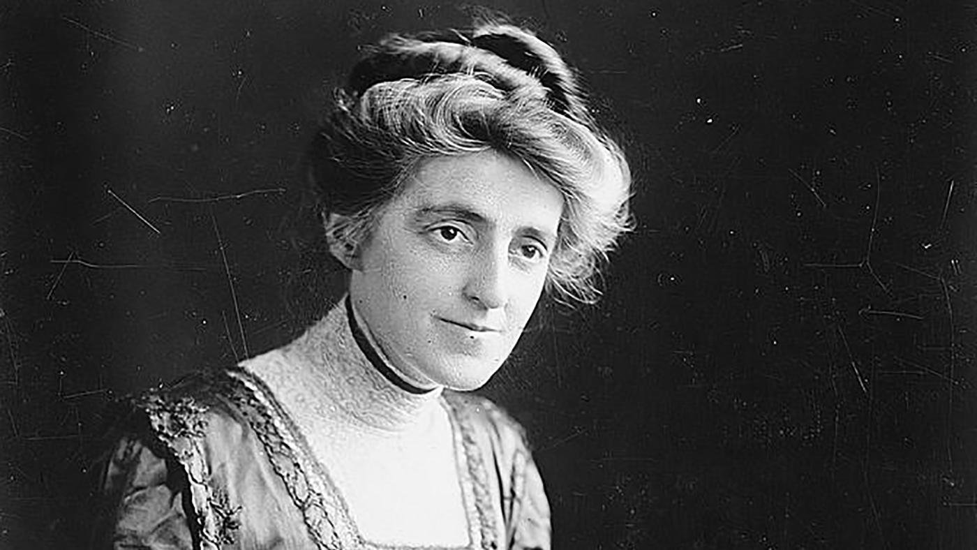 Sophonisba Breckinridge. Image: Courtesy of the Library of Congress.
