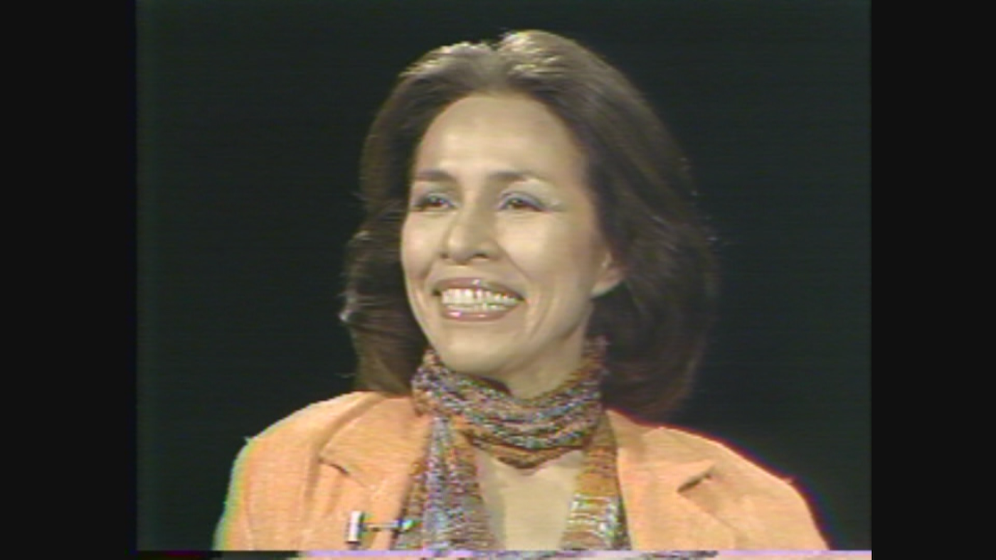 Ballerina Maria Tallchief on WTTW's 'Callaway Interviews' in 1978